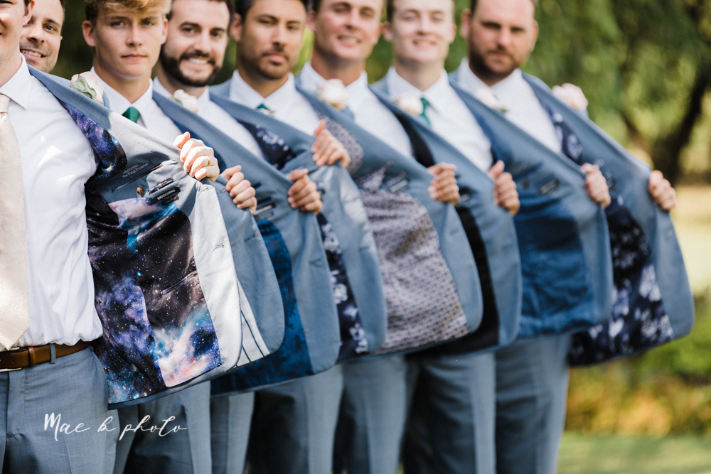 christina and michael's baseball themed midwest wedding at drake's landing and river's fellowside gardens in mill creek park in  youngstown ohio and holy family parish in poland ohio photographed by youngstown wedding photographer mae b photo-192.jpg