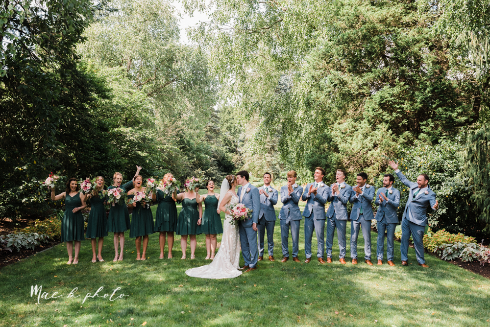 christina and michael's baseball themed midwest wedding at drake's landing and river's fellowside gardens in mill creek park in  youngstown ohio and holy family parish in poland ohio photographed by youngstown wedding photographer mae b photo-47.jpg