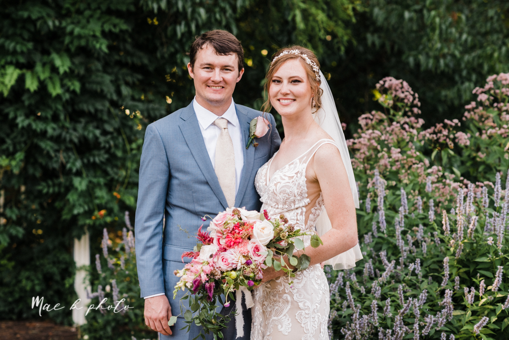 christina and michael's baseball themed midwest wedding at drake's landing and river's fellowside gardens in mill creek park in  youngstown ohio and holy family parish in poland ohio photographed by youngstown wedding photographer mae b photo-70.jpg