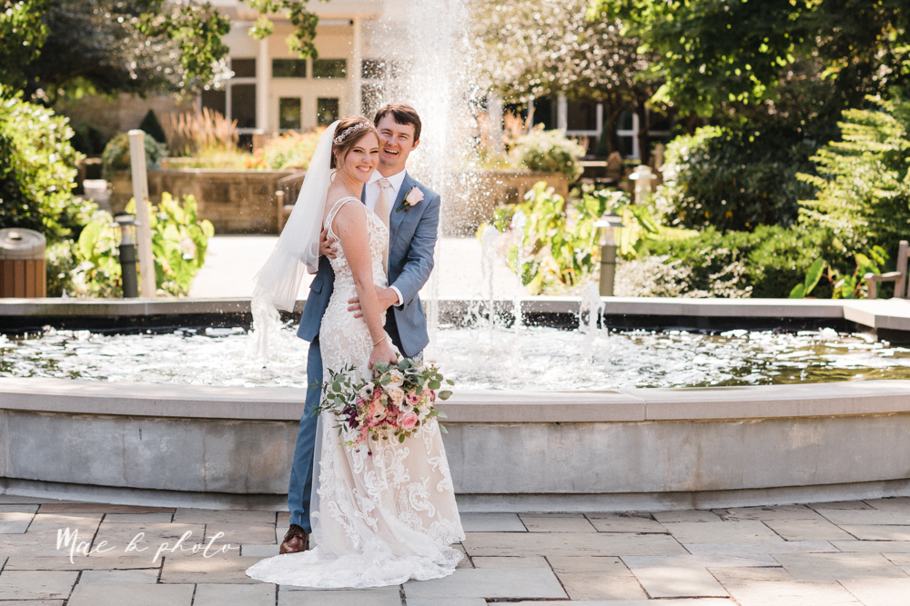 christina and michael's baseball themed midwest wedding at drake's landing and river's fellowside gardens in mill creek park in  youngstown ohio and holy family parish in poland ohio photographed by youngstown wedding photographer mae b photo-69.jpg