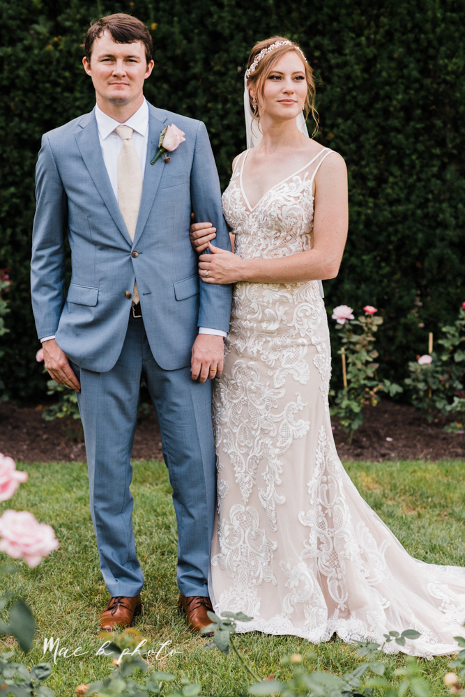 christina and michael's baseball themed midwest wedding at drake's landing and river's fellowside gardens in mill creek park in  youngstown ohio and holy family parish in poland ohio photographed by youngstown wedding photographer mae b photo-86.jpg