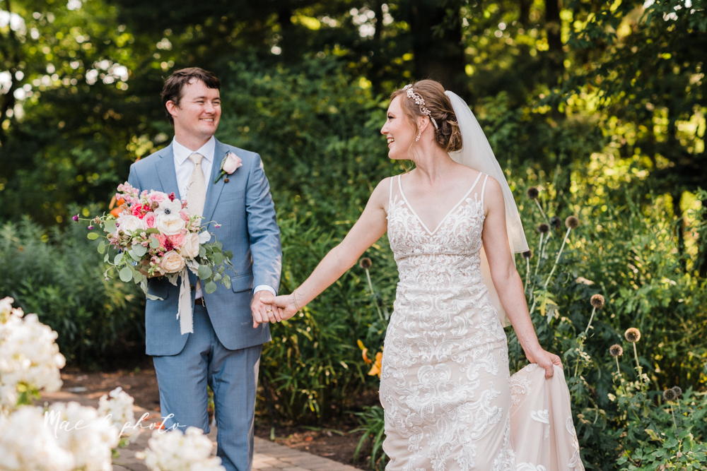 christina and michael's baseball themed midwest wedding at drake's landing and river's fellowside gardens in mill creek park in  youngstown ohio and holy family parish in poland ohio photographed by youngstown wedding photographer mae b photo-76.jpg