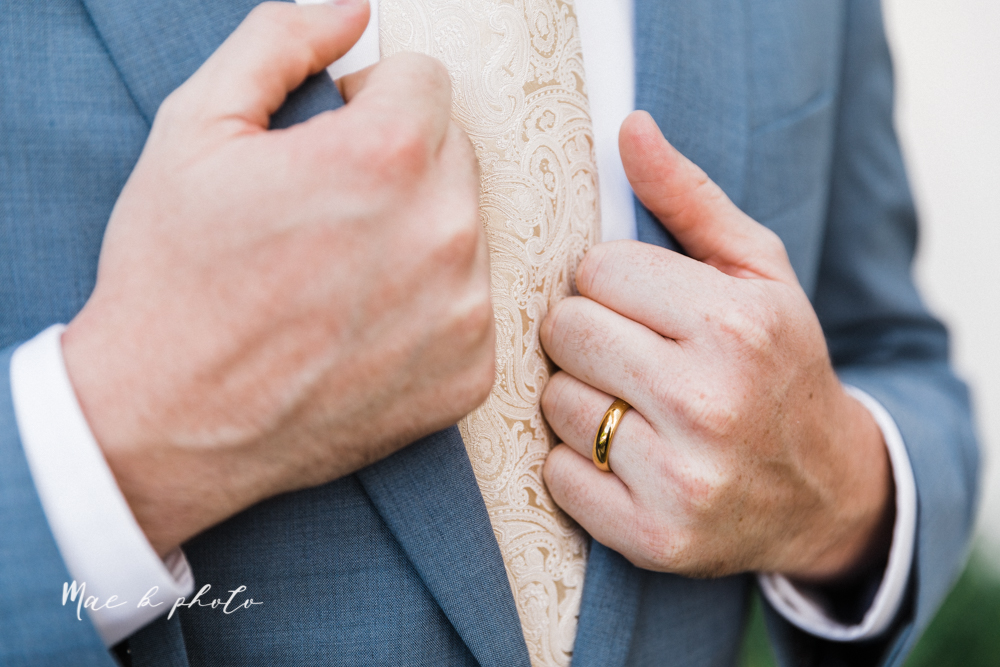 christina and michael's baseball themed midwest wedding at drake's landing and river's fellowside gardens in mill creek park in  youngstown ohio and holy family parish in poland ohio photographed by youngstown wedding photographer mae b photo-153.jpg