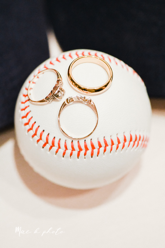 christina and michael's baseball themed midwest wedding at drake's landing and river's fellowside gardens in mill creek park in  youngstown ohio and holy family parish in poland ohio photographed by youngstown wedding photographer mae b photo-139.jpg
