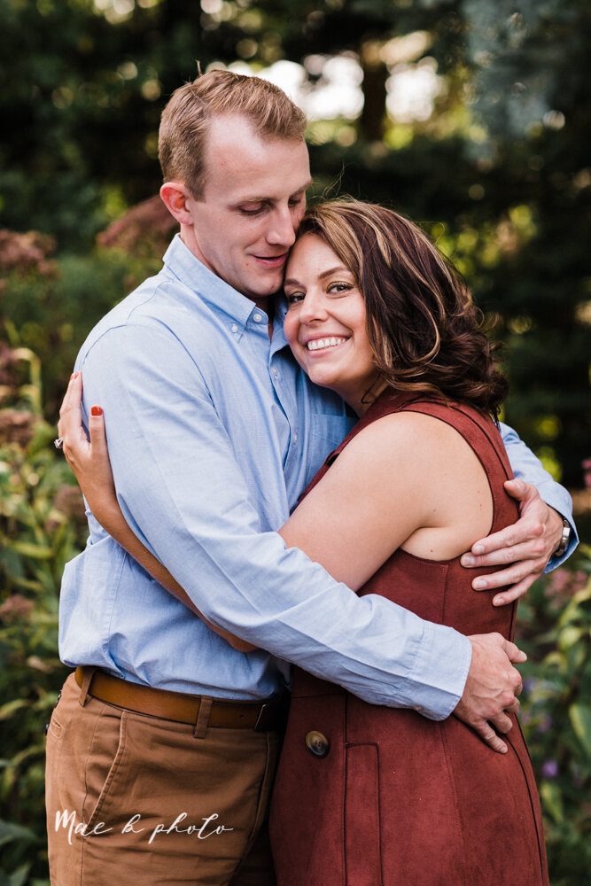 emily and karl's summer garden engagement session family session at fellows riverside gardens in mill creek park in youngstown ohio photographed by youngstown wedding photographer mae b photo-38.jpg