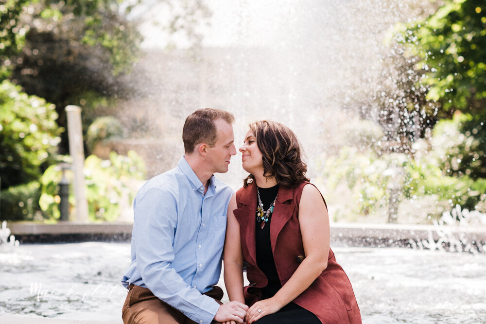emily and karl's summer garden engagement session family session at fellows riverside gardens in mill creek park in youngstown ohio photographed by youngstown wedding photographer mae b photo-49.jpg