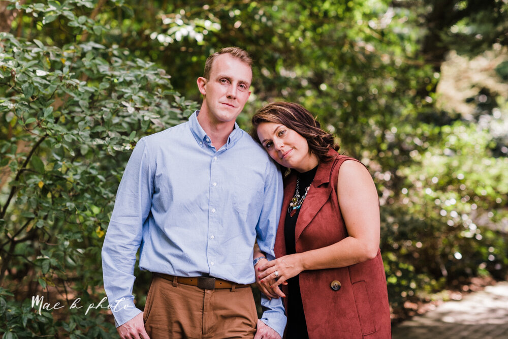 emily and karl's summer garden engagement session family session at fellows riverside gardens in mill creek park in youngstown ohio photographed by youngstown wedding photographer mae b photo-30.jpg