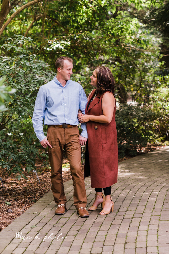 emily and karl's summer garden engagement session family session at fellows riverside gardens in mill creek park in youngstown ohio photographed by youngstown wedding photographer mae b photo-28.jpg