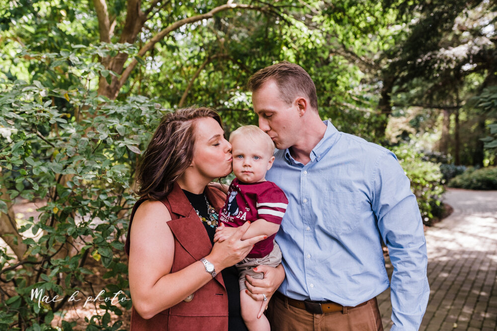 emily and karl's summer garden engagement session family session at fellows riverside gardens in mill creek park in youngstown ohio photographed by youngstown wedding photographer mae b photo-24.jpg