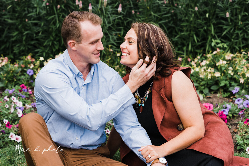 emily and karl's summer garden engagement session family session at fellows riverside gardens in mill creek park in youngstown ohio photographed by youngstown wedding photographer mae b photo-8.jpg