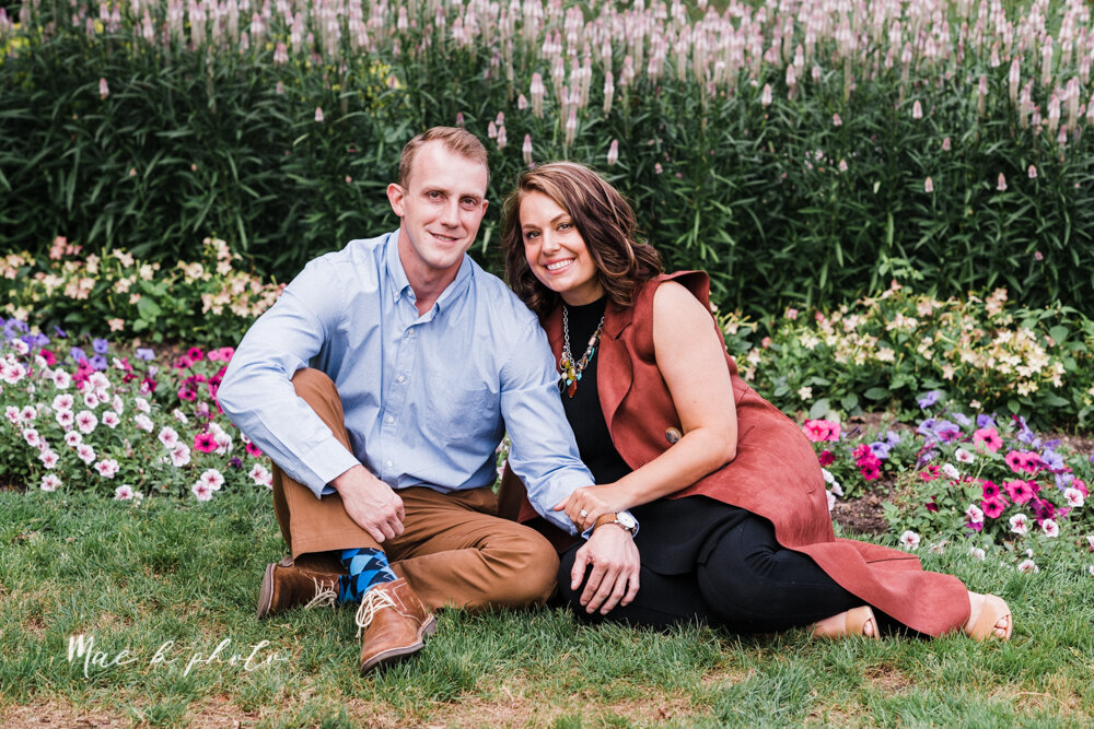 emily and karl's summer garden engagement session family session at fellows riverside gardens in mill creek park in youngstown ohio photographed by youngstown wedding photographer mae b photo-6.jpg
