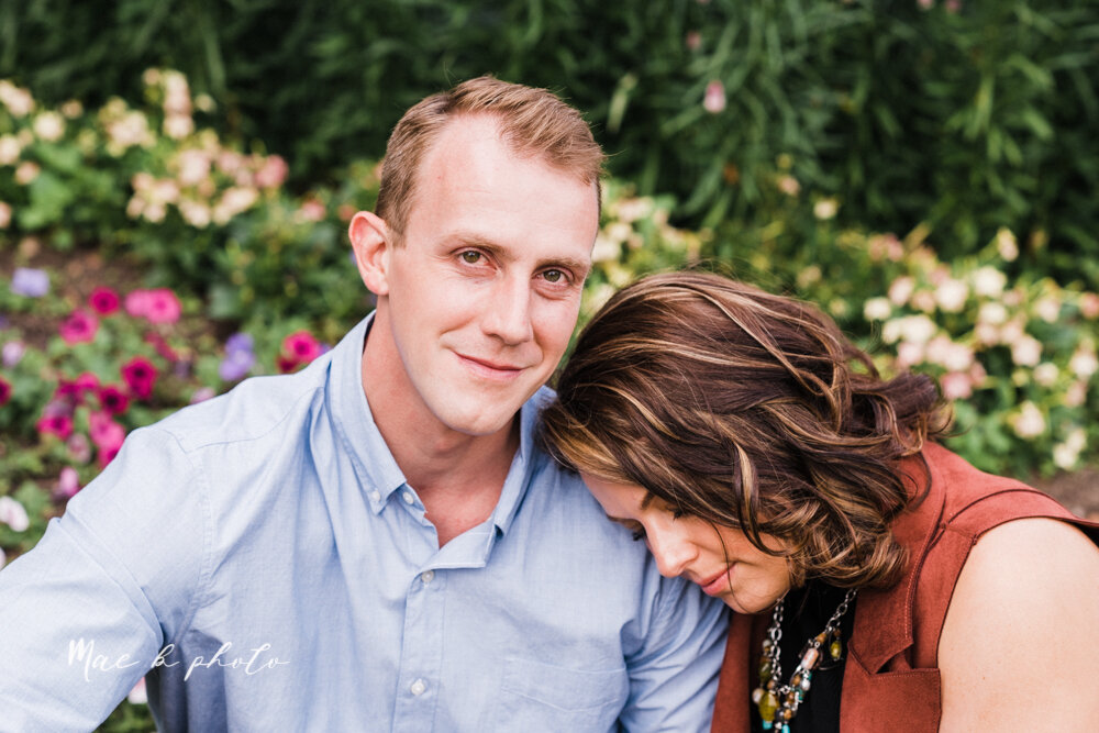 emily and karl's summer garden engagement session family session at fellows riverside gardens in mill creek park in youngstown ohio photographed by youngstown wedding photographer mae b photo-11.jpg