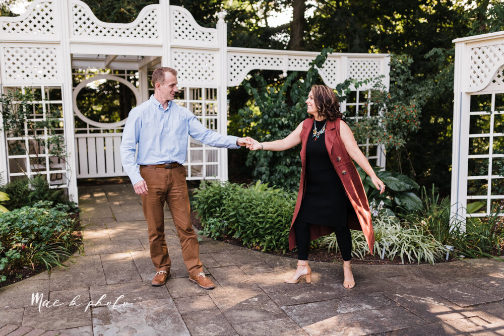 emily and karl's summer garden engagement session family session at fellows riverside gardens in mill creek park in youngstown ohio photographed by youngstown wedding photographer mae b photo-46.jpg