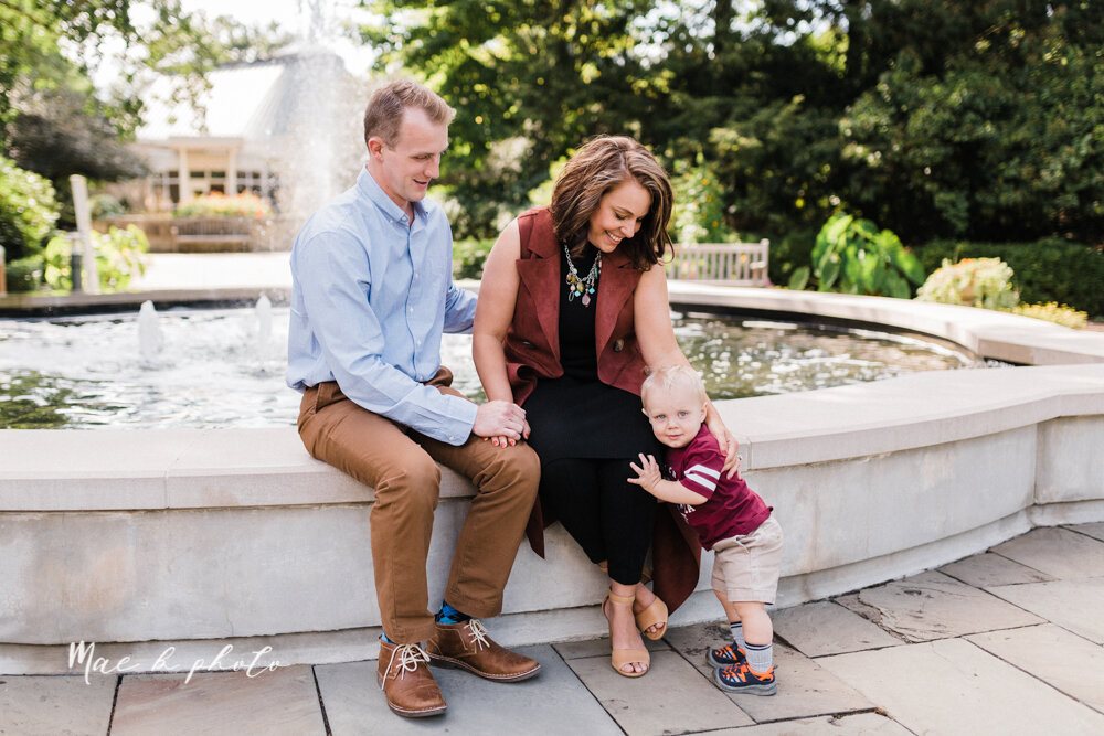 emily and karl's summer garden engagement session family session at fellows riverside gardens in mill creek park in youngstown ohio photographed by youngstown wedding photographer mae b photo-52.jpg