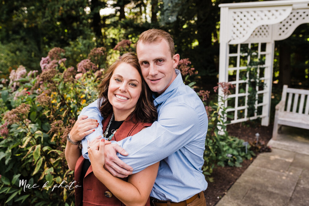 emily and karl's summer garden engagement session family session at fellows riverside gardens in mill creek park in youngstown ohio photographed by youngstown wedding photographer mae b photo-36.jpg