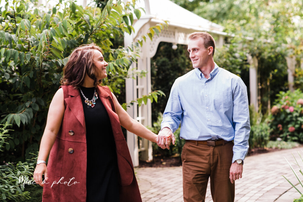 emily and karl's summer garden engagement session family session at fellows riverside gardens in mill creek park in youngstown ohio photographed by youngstown wedding photographer mae b photo-35.jpg