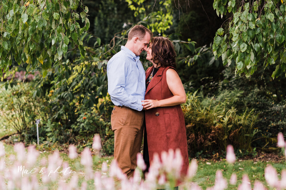 emily and karl's summer garden engagement session family session at fellows riverside gardens in mill creek park in youngstown ohio photographed by youngstown wedding photographer mae b photo-14.jpg