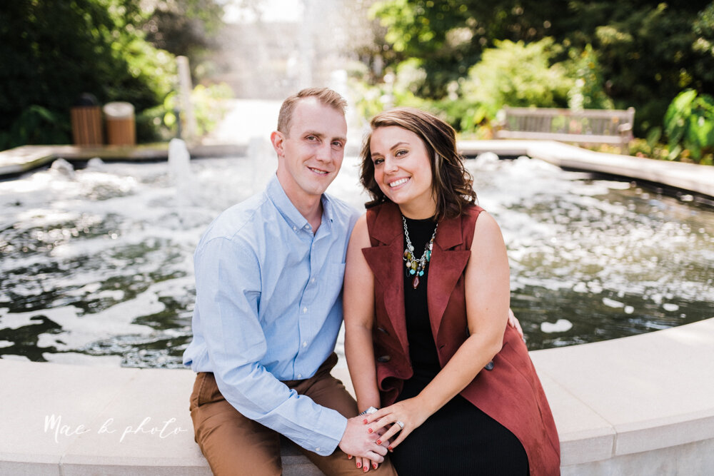 emily and karl's summer garden engagement session family session at fellows riverside gardens in mill creek park in youngstown ohio photographed by youngstown wedding photographer mae b photo-51.jpg