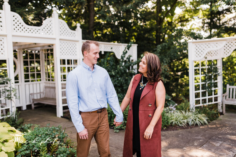 emily and karl's summer garden engagement session family session at fellows riverside gardens in mill creek park in youngstown ohio photographed by youngstown wedding photographer mae b photo-47.jpg