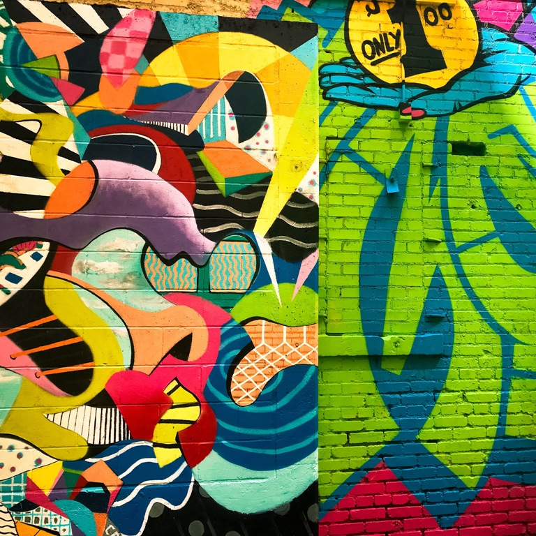 Downtown Tulsa Art Alley - Tulsa Photography