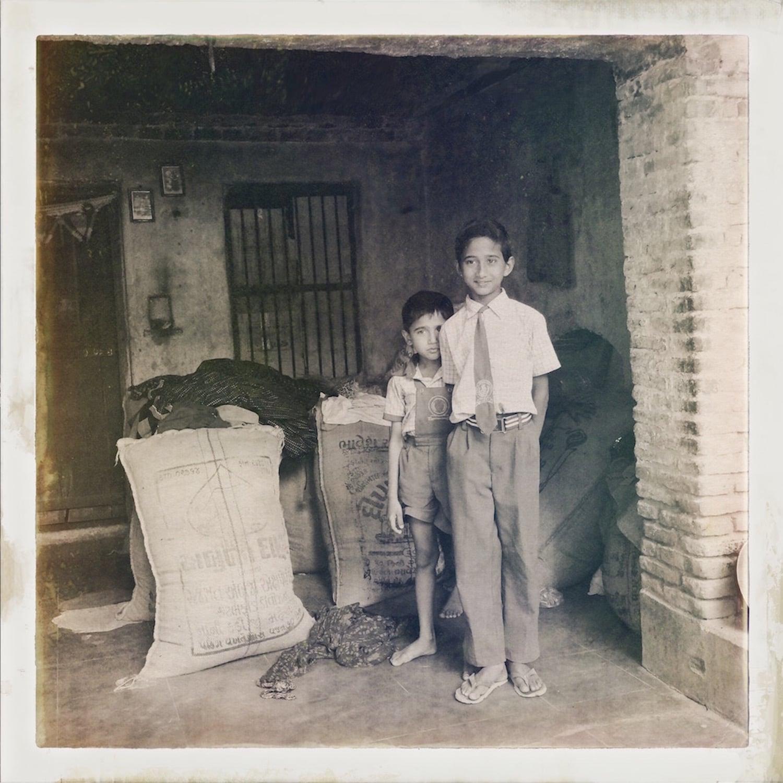 Two Boys in Narlai