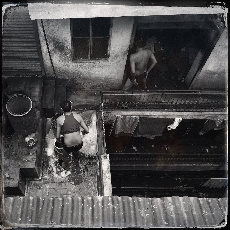 Rooftop Bathing