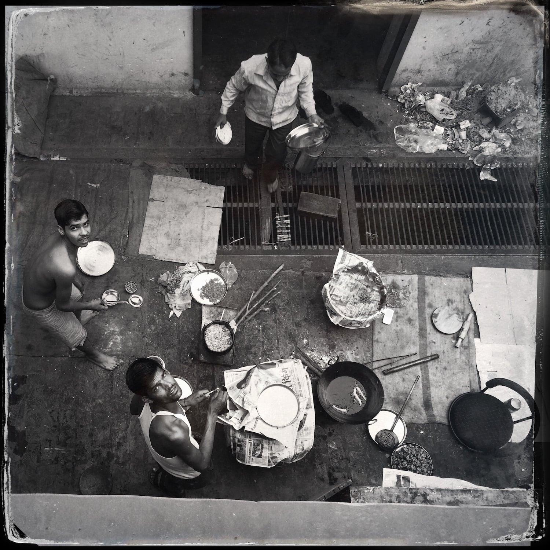 Rooftop Cooking