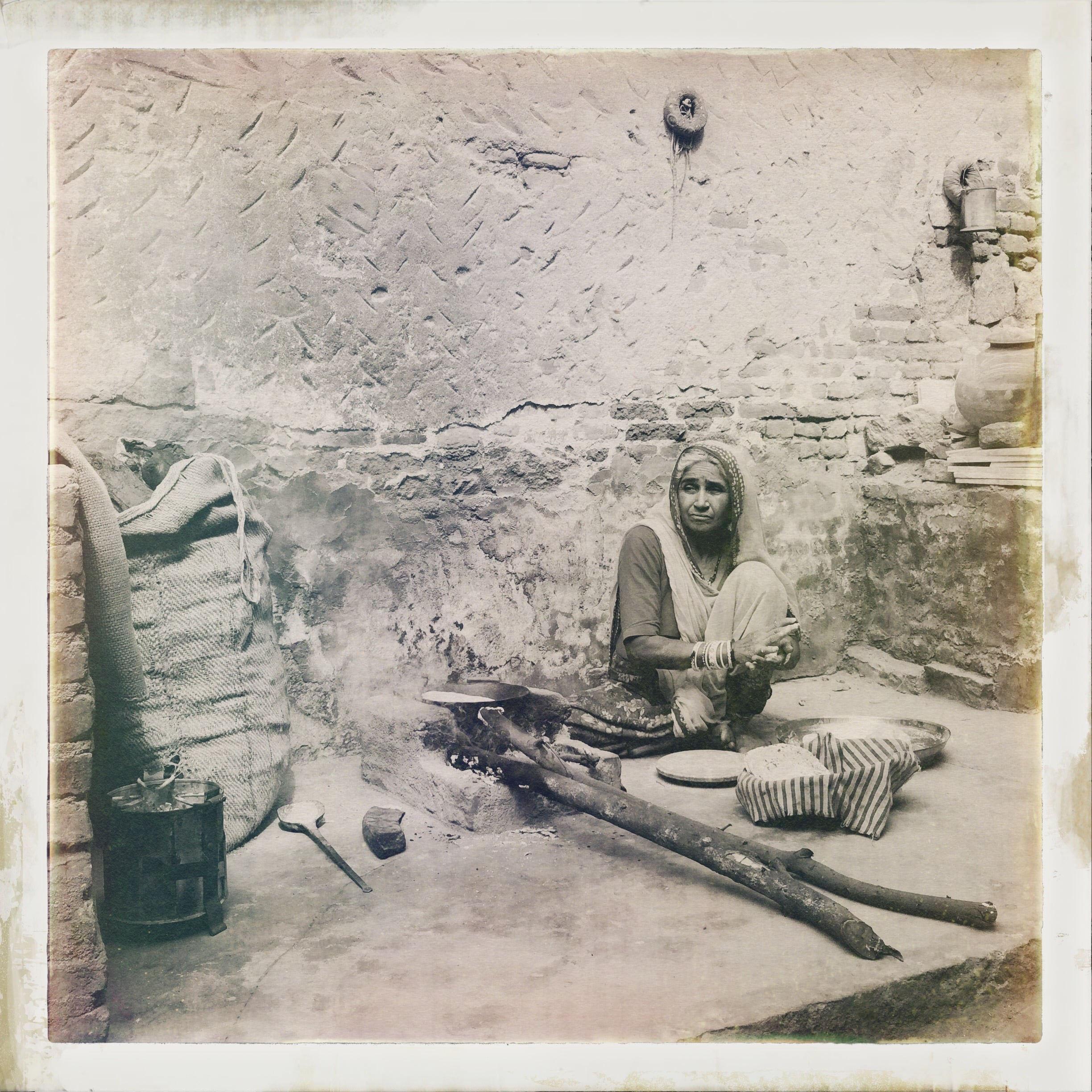 Cooking in Narlai