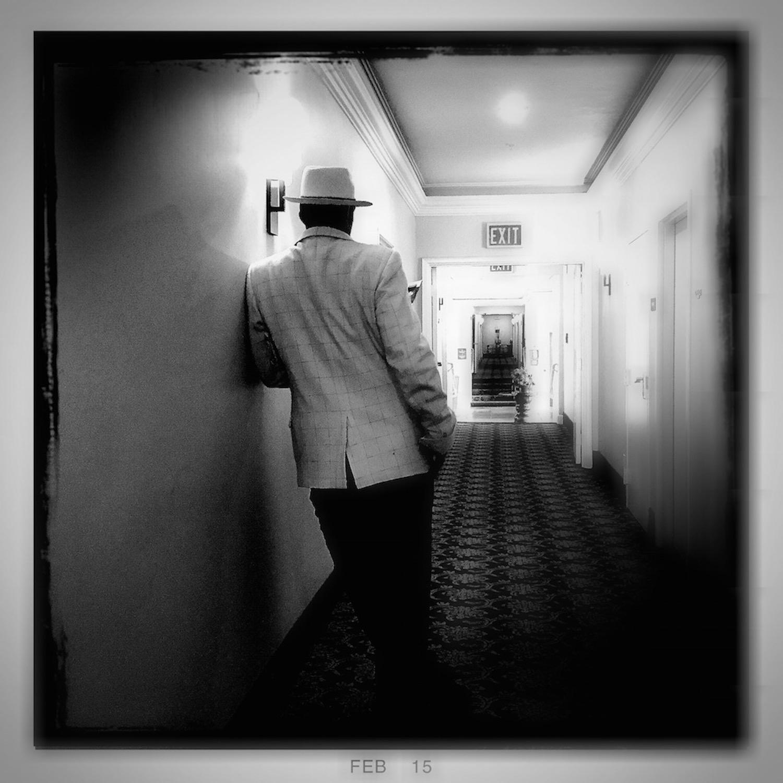 Man in the Hallway