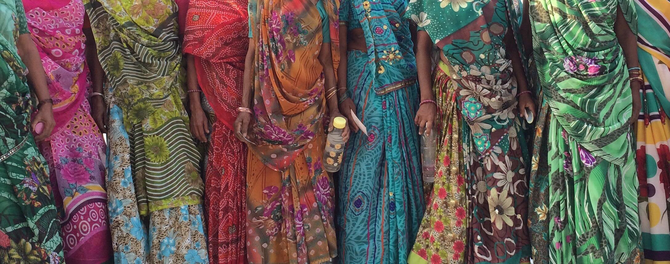Copy of Many Saris