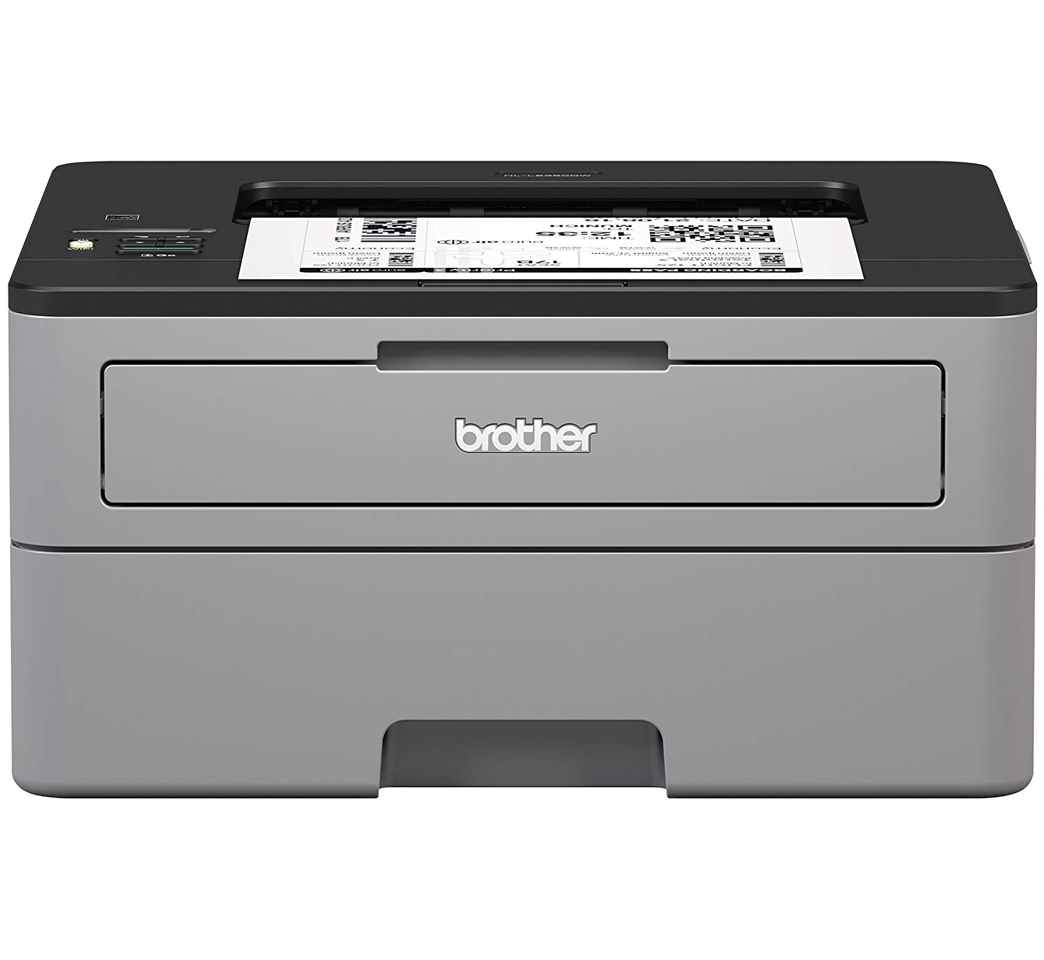Brother HL-L2350DW Printer. Black Only Laser Ink Tray Printer  (PRINTS Black Ink only, NO scanner or fax) . Super Basic, Super Reliable. Anything within the 2300 series is similar, and they cost under $80 new.