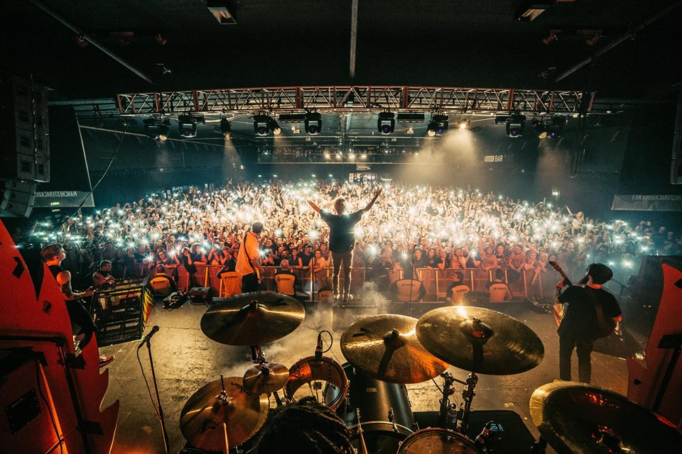 Photo from Neck Deep. Credit to Joshua Halling.
