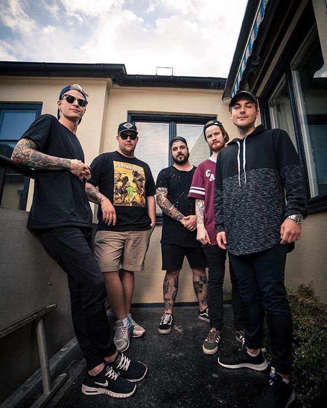 @abandonedbybearsofficial have started working on their second album. Are you as excited as us? • • • @victoryrecords #easycore #abandonedbybears #victoryrecords 🇸🇪🇸🇪
