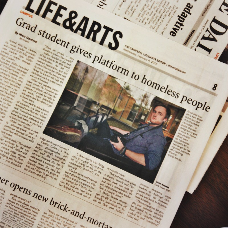 Daily Texan Interview