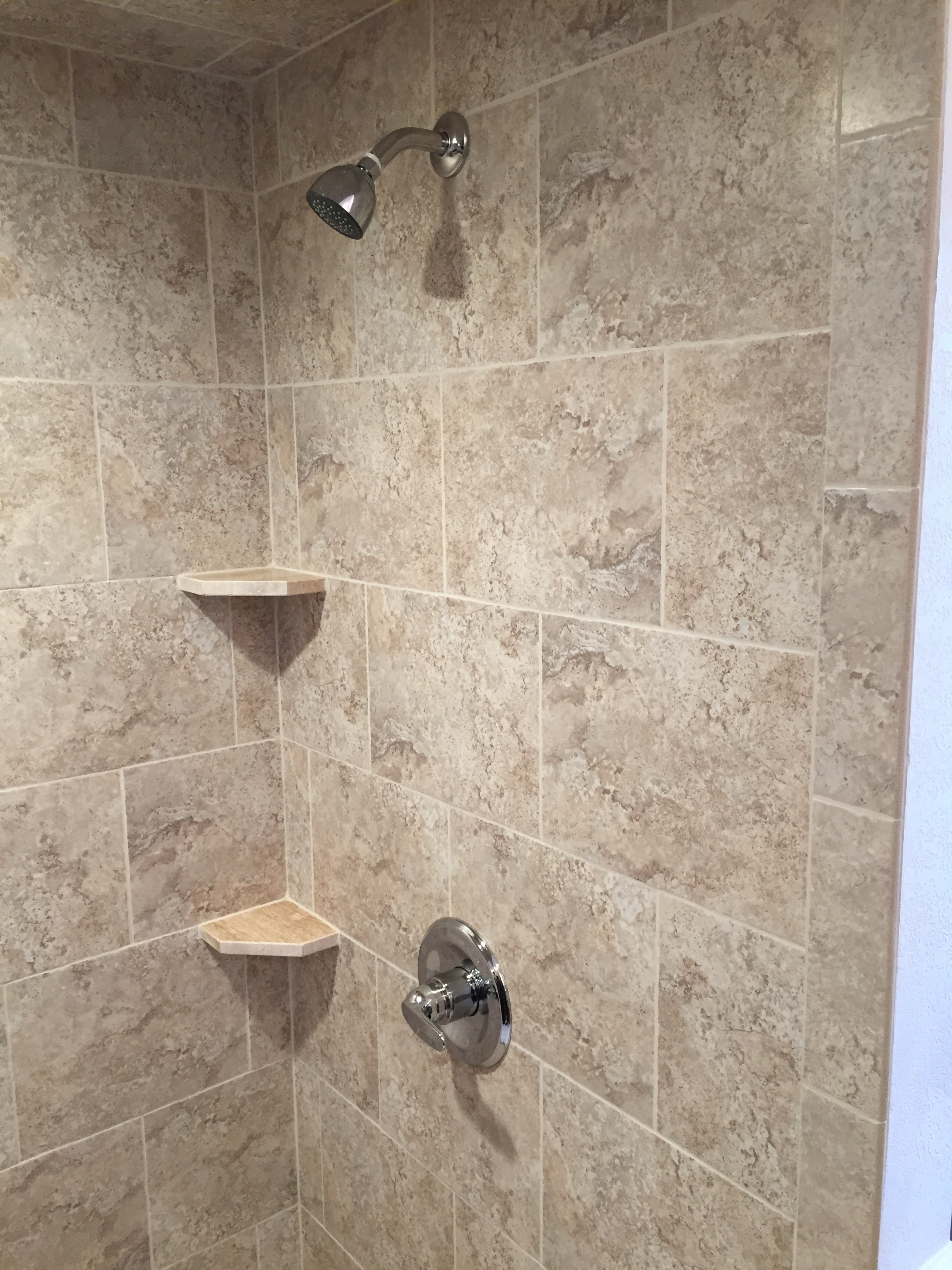 A shower remodel we did.