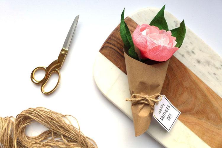paper flower peony