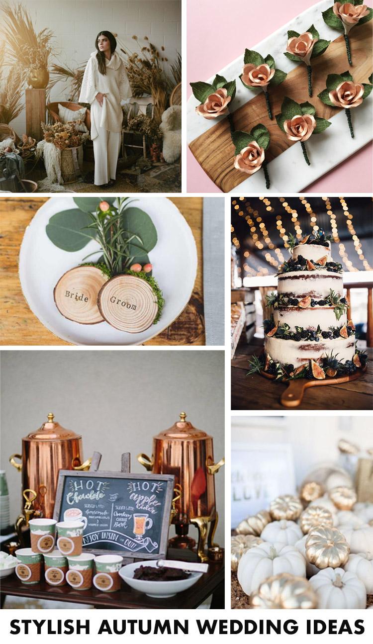 stylish wedding decor