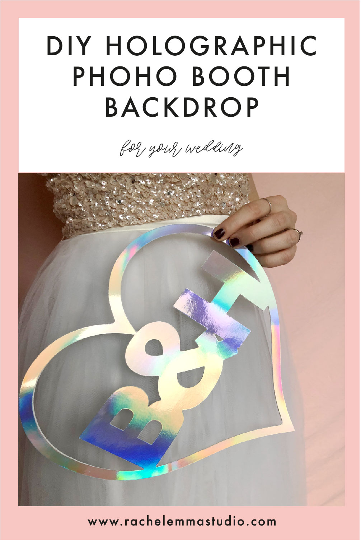 holographic wedding inspiration
