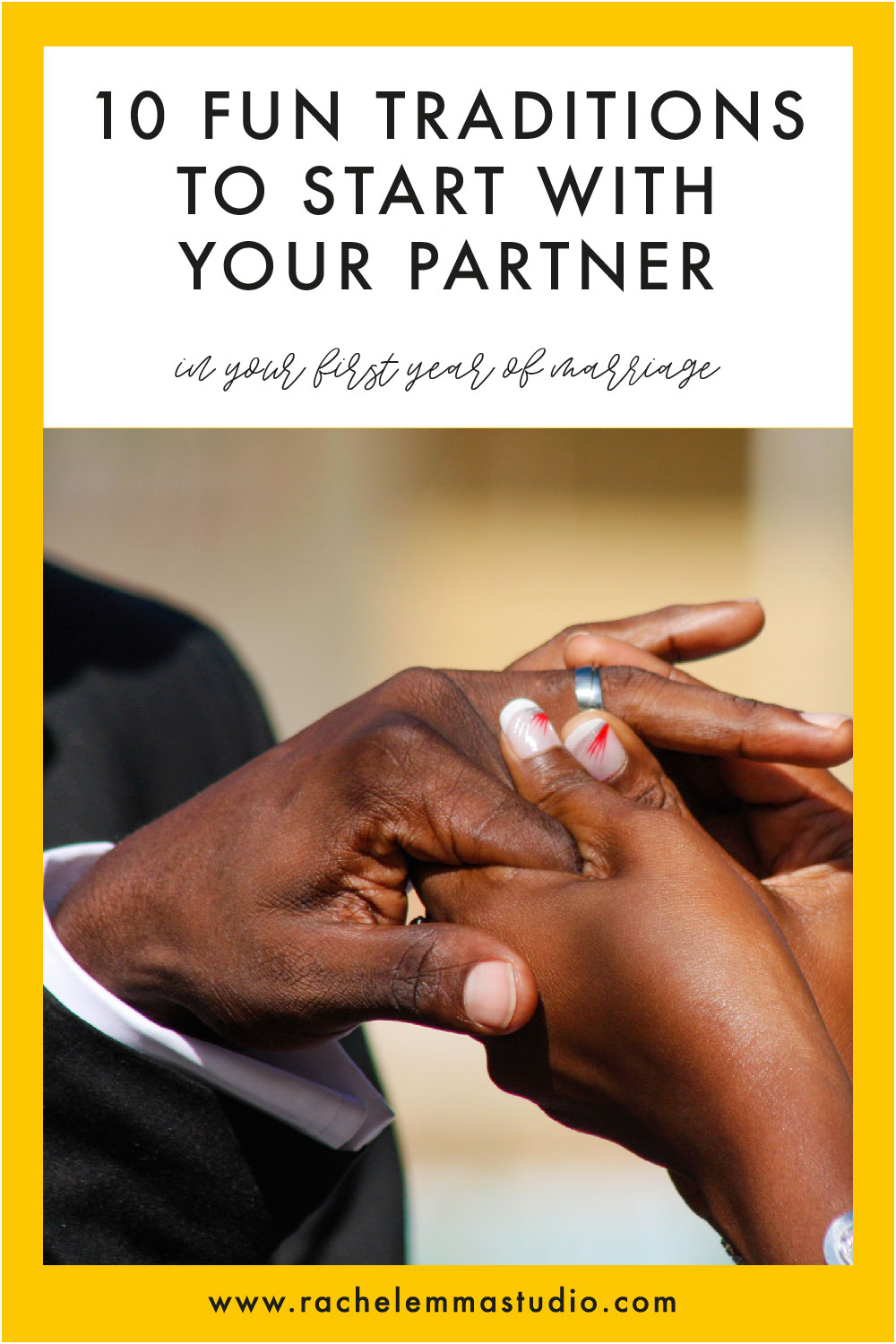 10 traditions to start with your partner