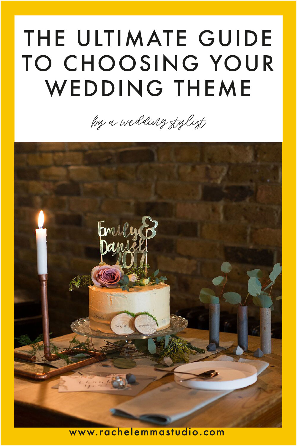 how to choose your wedding theme