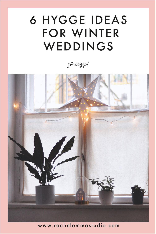 6 hygge ideas for winter weddings