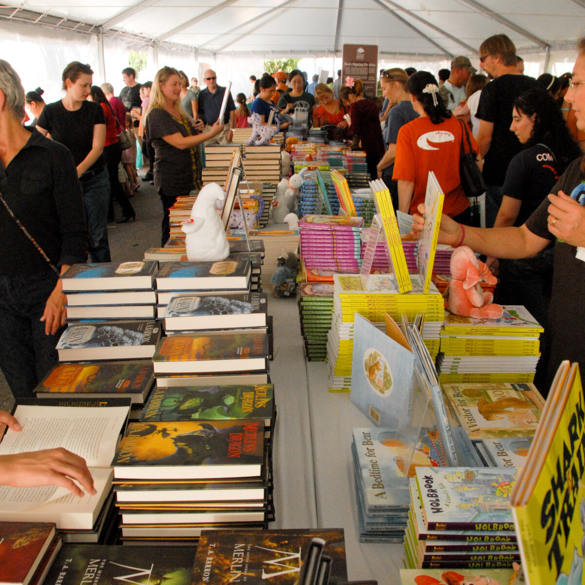 Credit Texas Book Festival.