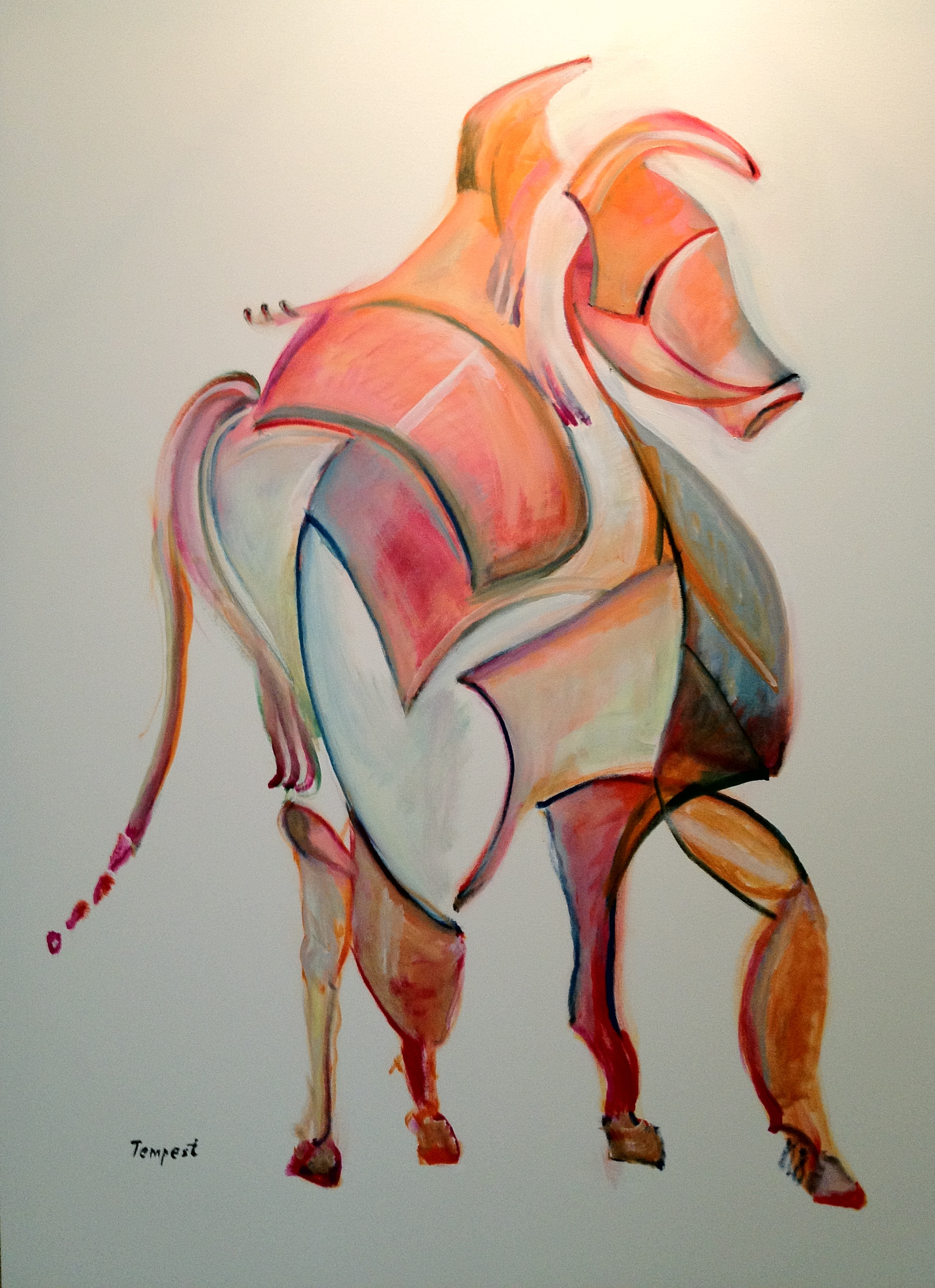 Large Orange Horse