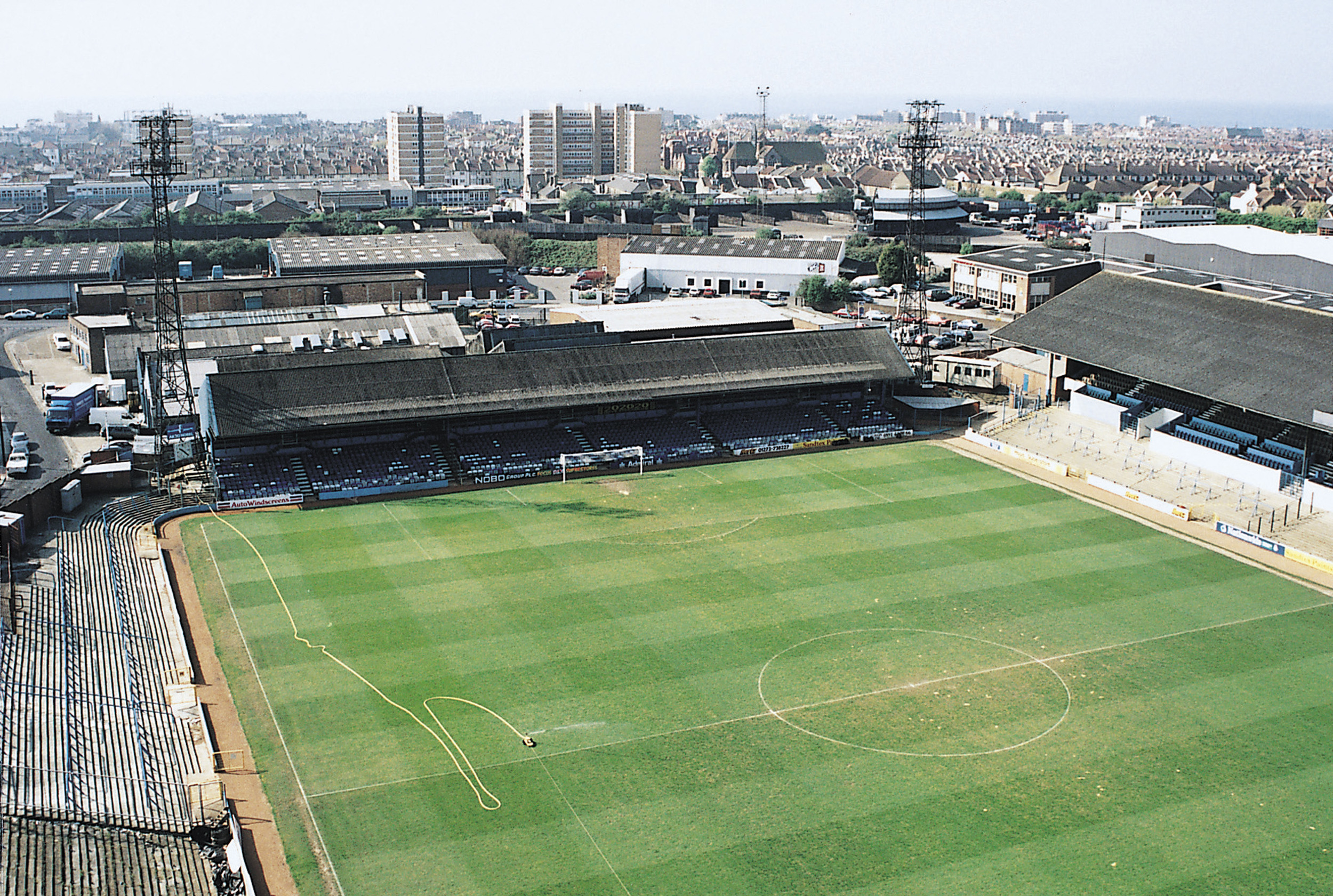 The Goldstone Ground in 1997 - Image courtesy of BHAFC