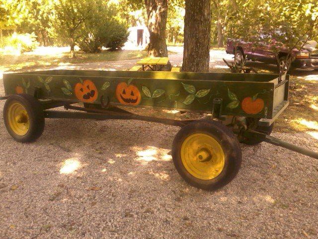 1940 Hay wagon