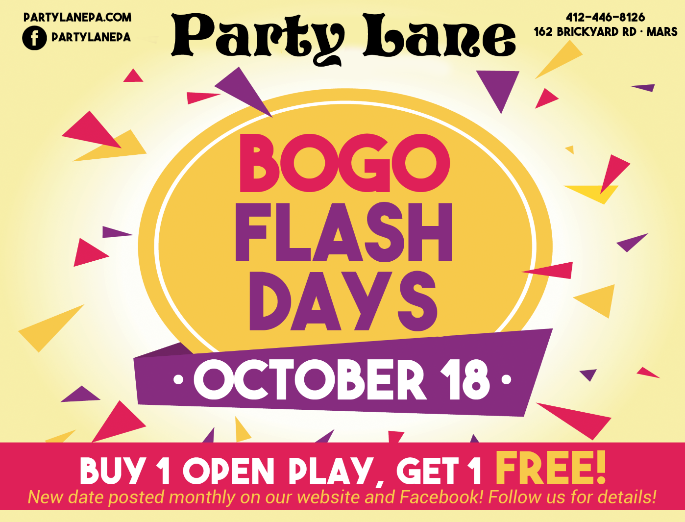 BOGO Flash Days