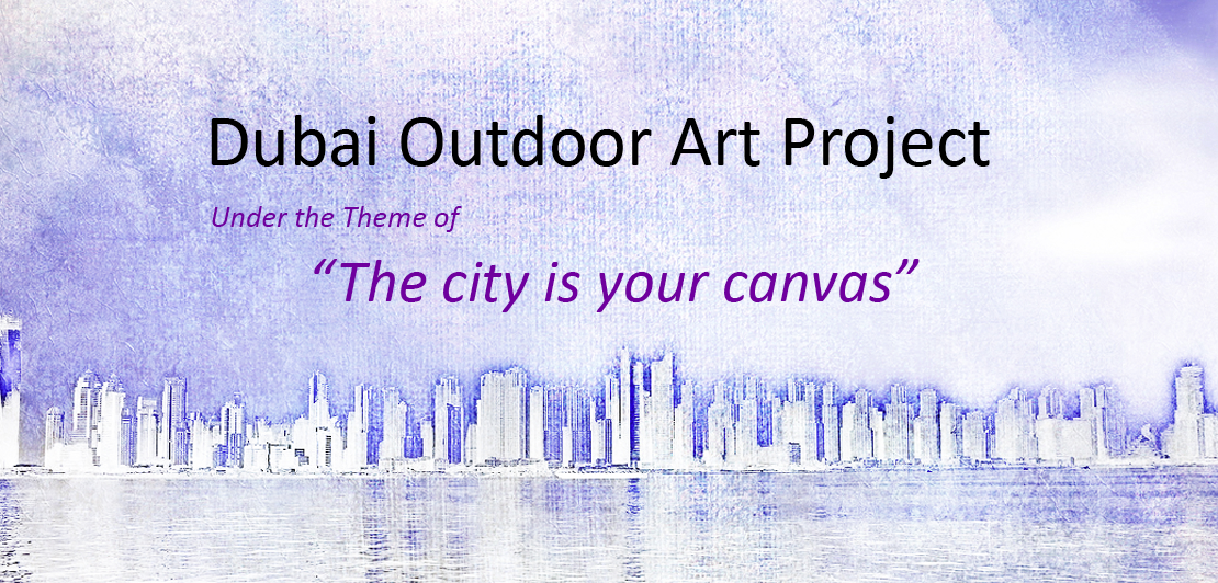 Outdoor art exhibition at JBR