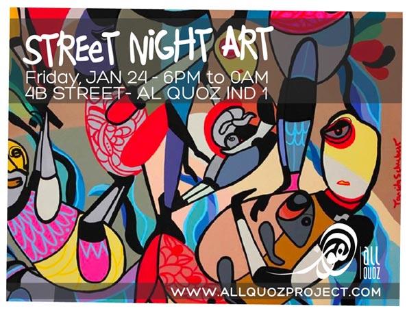 Street Night Art