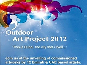 """Dubai Culture's """"Outdoor Art Project"""""""