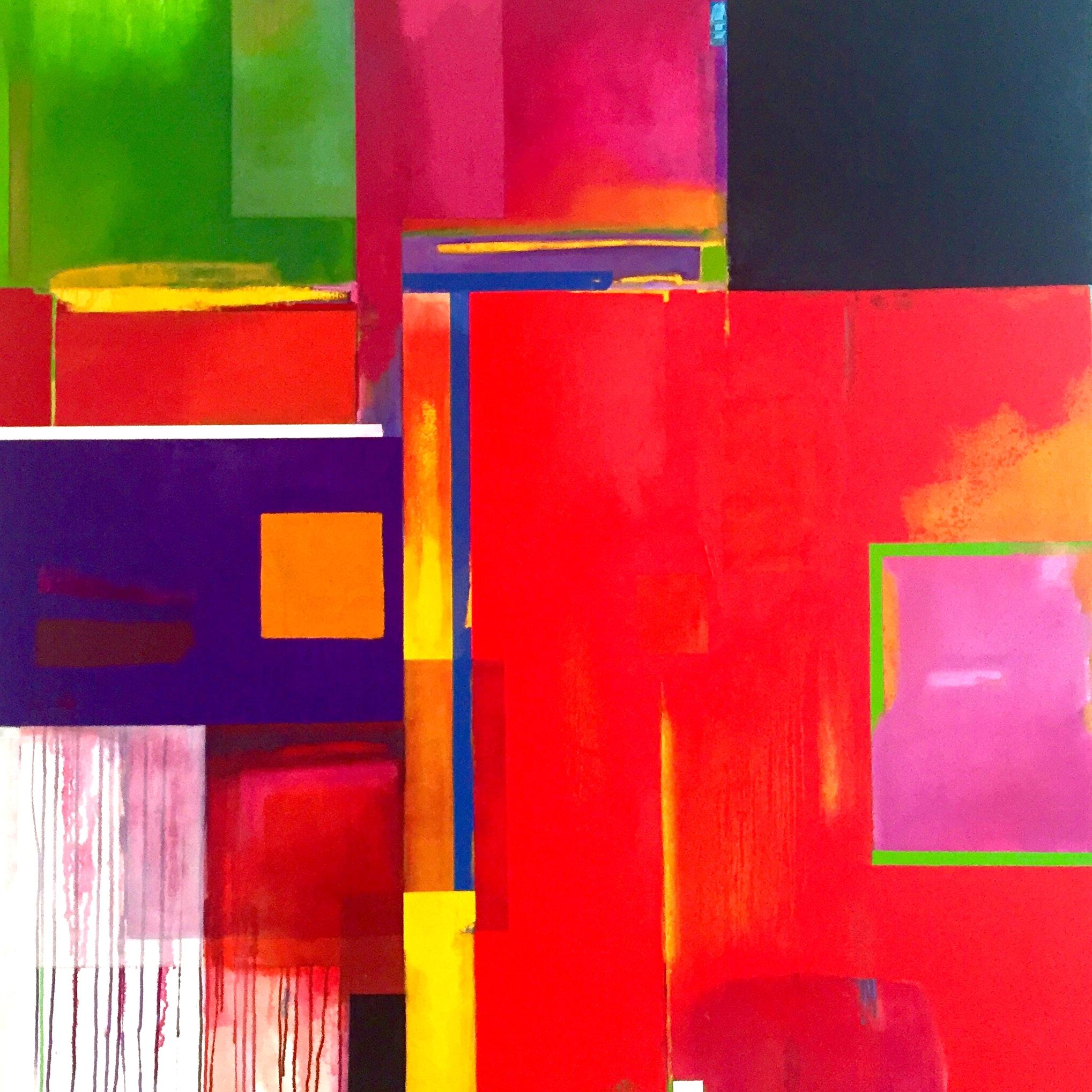 "72""x72"" Oil on Canvas"